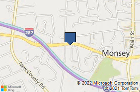 Bing Map of 161 Route 59 Ste 204 Monsey, NY 10952