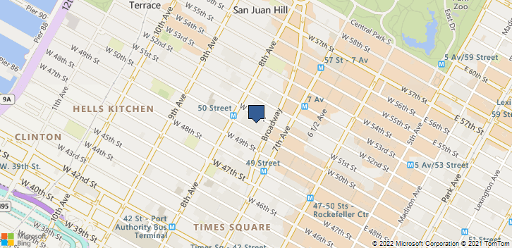 1633 Broadway -3rd Fl  New York, NY, 10019 Map