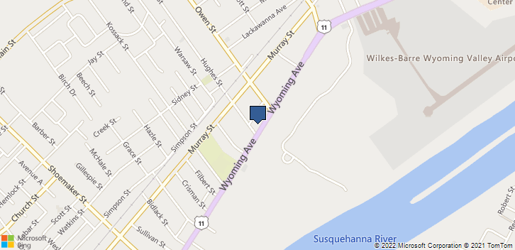 1654 Wyoming Ave  Forty-Fort, PA, 18704 Map