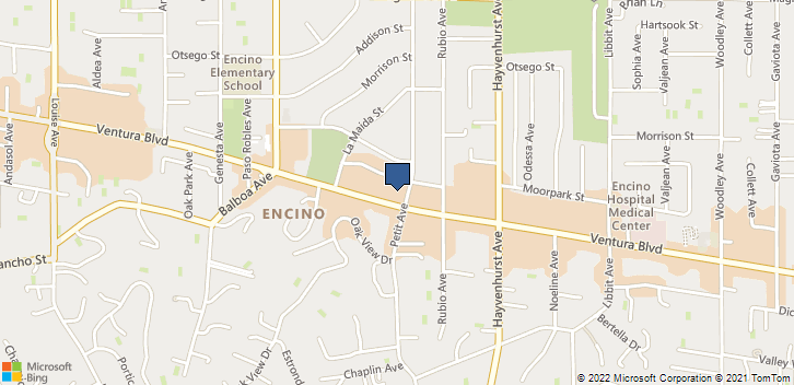 16661 Ventura Blvd Encino, CA, 91436 Map