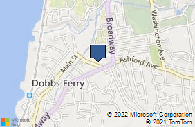 Bing Map of 16b Cedar St Dobbs Ferry, NY 10522