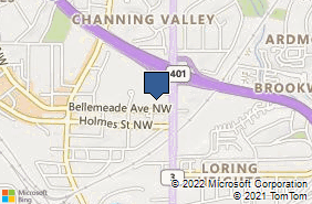Bing Map of 1700 Northside Dr Nw Ste C1 Atlanta, GA 30318