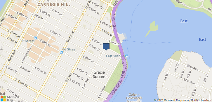 1700 York Ave New York, NY, 10128 Map