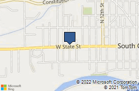 Bing Map of 1720 W State St Olean, NY 14760