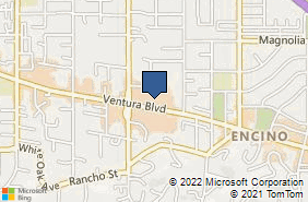Bing Map of 17203 Ventura Blvd Ste 5 Encino, CA 91316