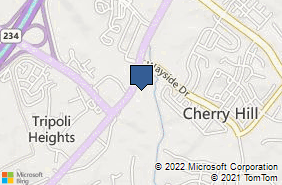 Bing Map of 17323 Jeff Davis Hwy Ste 202 Dumfries, VA 22026