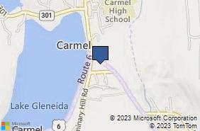 Bing Map of 1751 Route 6 Carmel, NY 10512