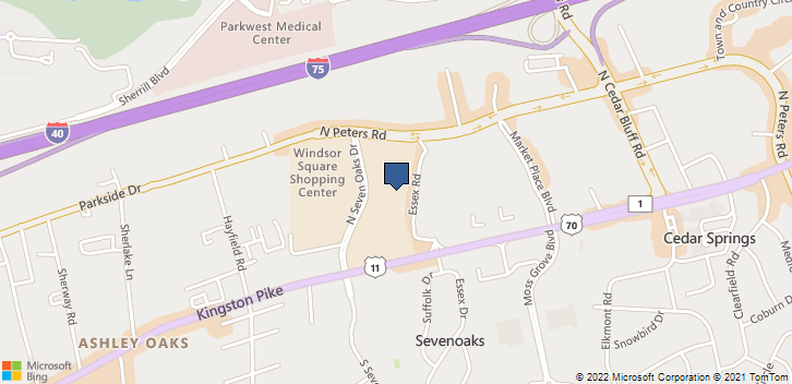 178 N Seven Oaks Dr Knoxville, TN, 37922 Map