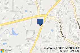 Bing Map of 1784 Powder Springs Rd Sw Marietta, GA 30064
