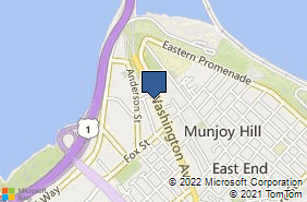 Bing Map of 178a Washington Ave Portland, ME 04101