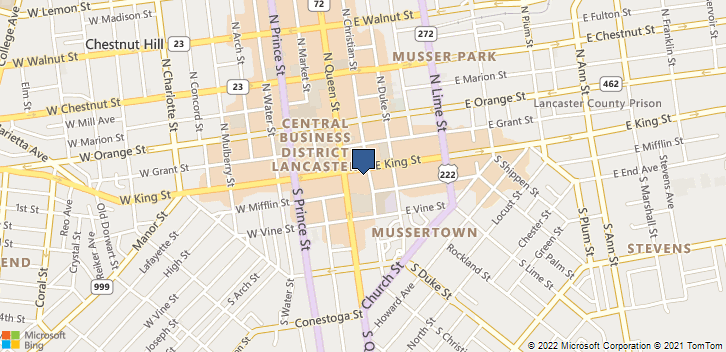 18 East King Street 2 Lancaster, PA, 17602 Map