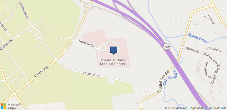 1800 E Park Ave State College, PA, 16803 Map