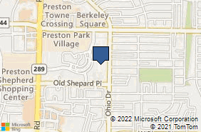 Bing Map of 1800 Preston Park Blvd Ste 122 Plano, TX 75093