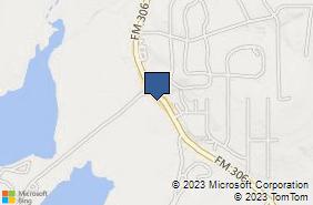 Bing Map of 18121 Fm 306 Ste 100 Canyon Lake, TX 78133