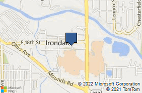 Bing Map of 1815 D St Anderson, IN 46016