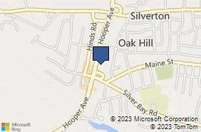 Bing Map of 1841 Hooper Ave Ste B Toms River, NJ 08753
