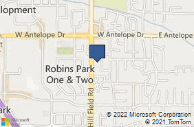 Bing Map of 1848 N Hill Field Rd # 2 Layton, UT 84041