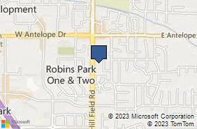 Bing Map of 1848 N Hill Field Rd Ste 2 Layton, UT 84041