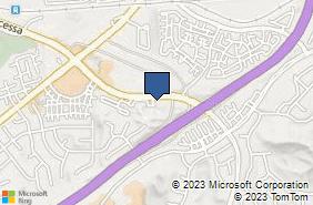 Bing Map of 18560 Via Princessa Ste 110 Canyon Country, CA 91387