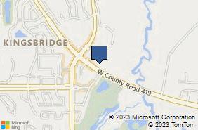 Bing Map of 1890 W County Road 419 Oviedo, FL 32765