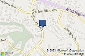 Bing Map of 19 E Abarr Dr Ste E Pueblo West, CO 81007