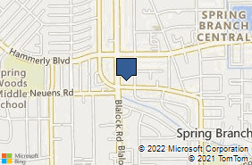 Bing Map of 1900 Blalock Rd Ste E Houston, TX 77080
