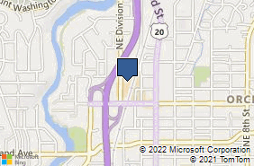 Bing Map of 1900 Ne Division St Ste 111 Bend, OR 97701
