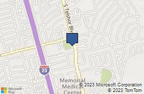 Bing Map of 1900 S Telshor Blvd Ste C Las Cruces, NM 88011