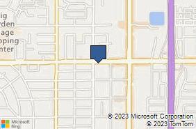 Bing Map of 191 W Shaw Ave Ste 109 Fresno, CA 93704