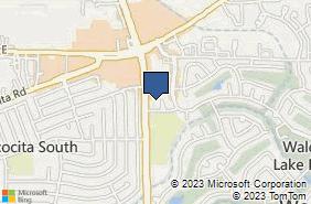 Bing Map of 19100 W Lake Houston Pkwy #100 Humble, TX 77346