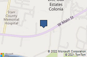 Bing Map of 1926 W Us Highway 83 Rio Grande City, TX 78582