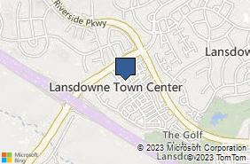 Bing Map of 19301 Winmeade Dr Ste 216 Lansdowne, VA 20176
