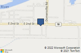 Bing Map of 1931 E 2nd St Defiance, OH 43512
