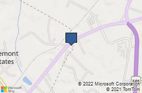 Bing Map of 19423 Forest Rd Lynchburg, VA 24502