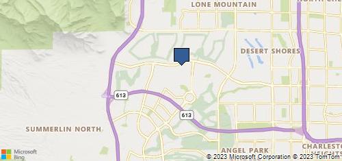 Bing Map of 1945 Vlg Ctr Cir Ste 150 Las Vegas, NV 89134