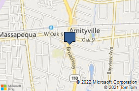 Bing Map of 195 Broadway Amityville, NY 11701