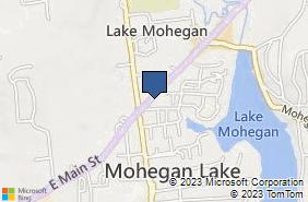 Bing Map of 1976 E Main St Mohegan Lake, NY 10547