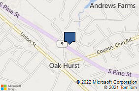 Bing Map of 1977 S Pine St Spartanburg, SC 29302