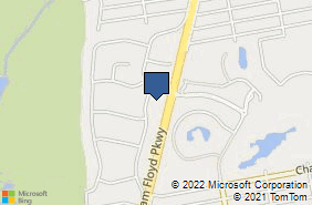Bing Map of 2 Coraci Blvd Ste 5 Shirley, NY 11967