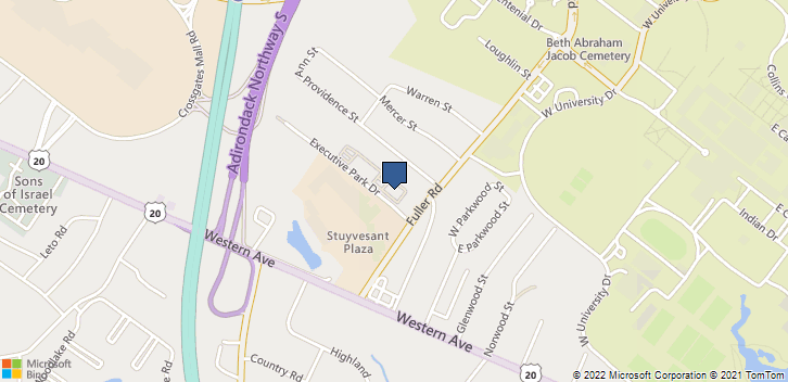 2 Executive Park Dr Albany, NY, 12203 Map