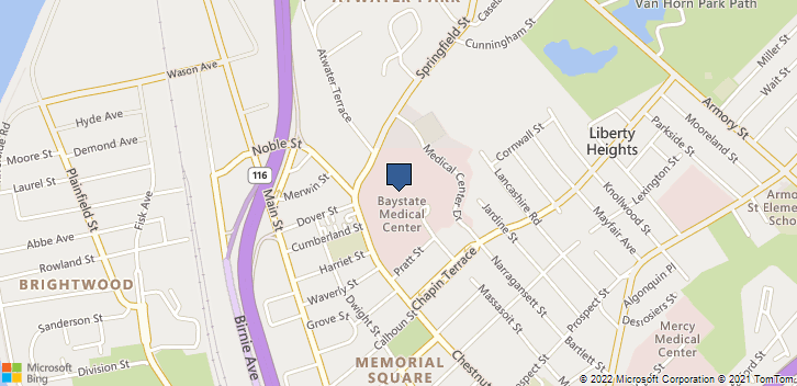 2 Medical Ctr Dr Springfield, MA, 01107 Map