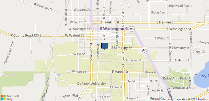 2 W Seminary St Greencastle, IN, 46105 Map