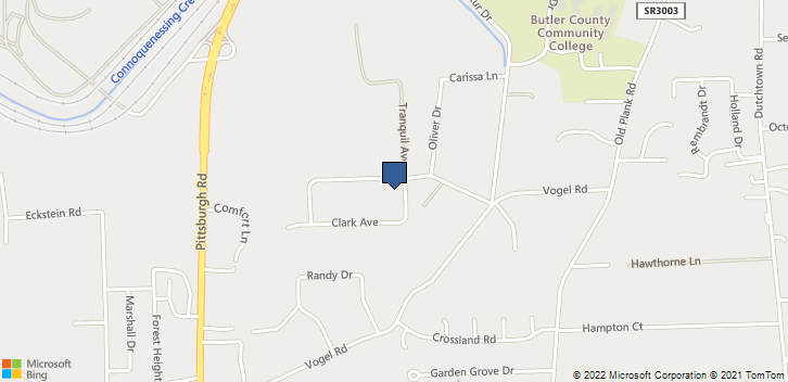 200 Clark Ave Butler, PA, 16002 Map