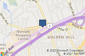 Bing Map of 200 Connecticut Ave Ste 5 Norwalk, CT 06854