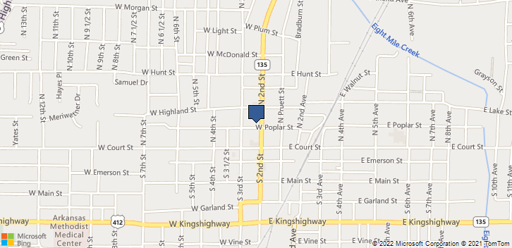 200 N 2nd St Paragould, AR, 72450 Map