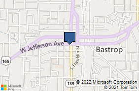 Bing Map of 200 S Washington St Bastrop, LA 71220