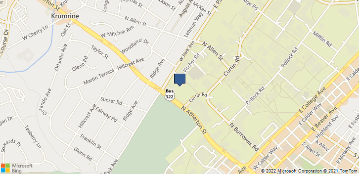 200 W Park Ave State College, PA, 16801 Map