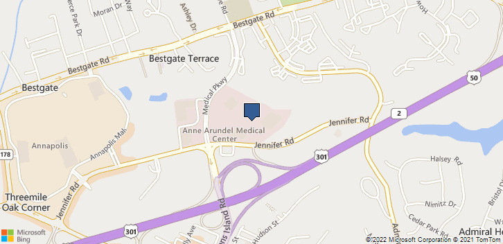 2001 Medical Pkway Annapolis, MD, 21401 Map