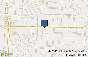 Bing Map of 2006 Bonniedale Dr Bellbrook, OH 45305