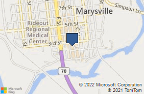 Bing Map of 201 D St Ste K Marysville, CA 95901